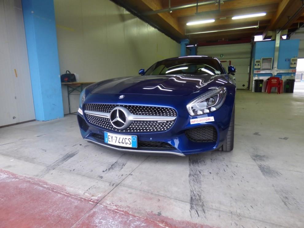 Mercedes-AMG GT S provati in pista i 510 CV sul Circuito di Franciacorta - Foto 31 di 41