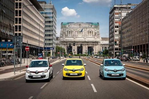 Nuova Renault Twingo test drive a Milano e Roma con Europcar