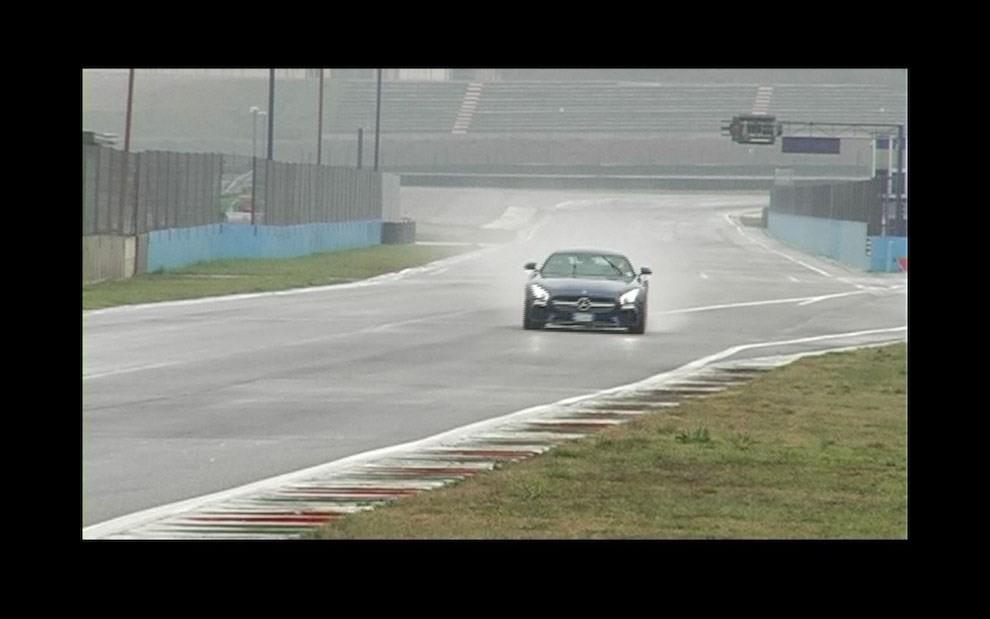 Mercedes-AMG GT S provati in pista i 510 CV sul Circuito di Franciacorta - Foto 15 di 41