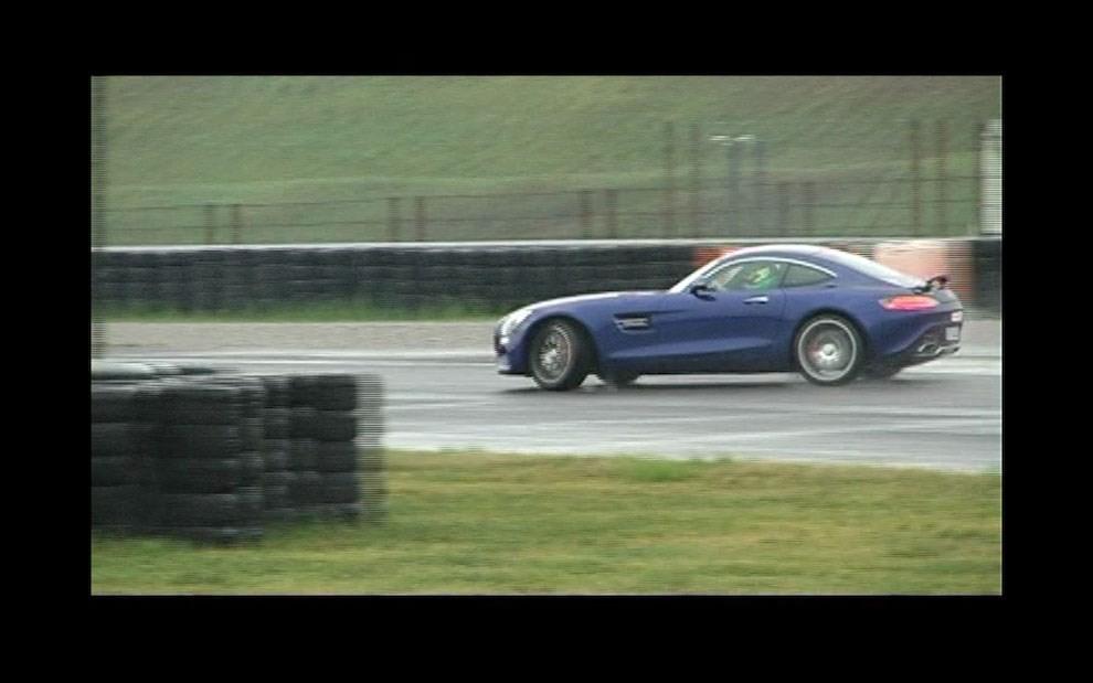 Mercedes-AMG GT S provati in pista i 510 CV sul Circuito di Franciacorta - Foto 18 di 41
