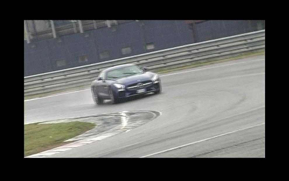 Mercedes-AMG GT S provati in pista i 510 CV sul Circuito di Franciacorta - Foto 19 di 41
