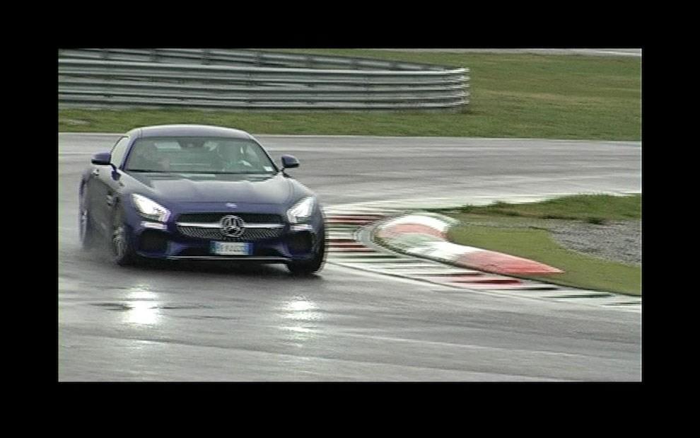 Mercedes-AMG GT S provati in pista i 510 CV sul Circuito di Franciacorta - Foto 9 di 41