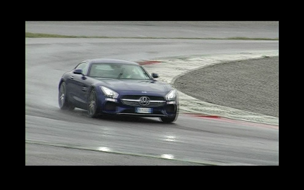 Mercedes-AMG GT S provati in pista i 510 CV sul Circuito di Franciacorta - Foto 13 di 41