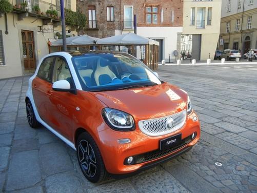 Smart Forfour 90 CV Turbo prova su strada, prestazioni e prezzi