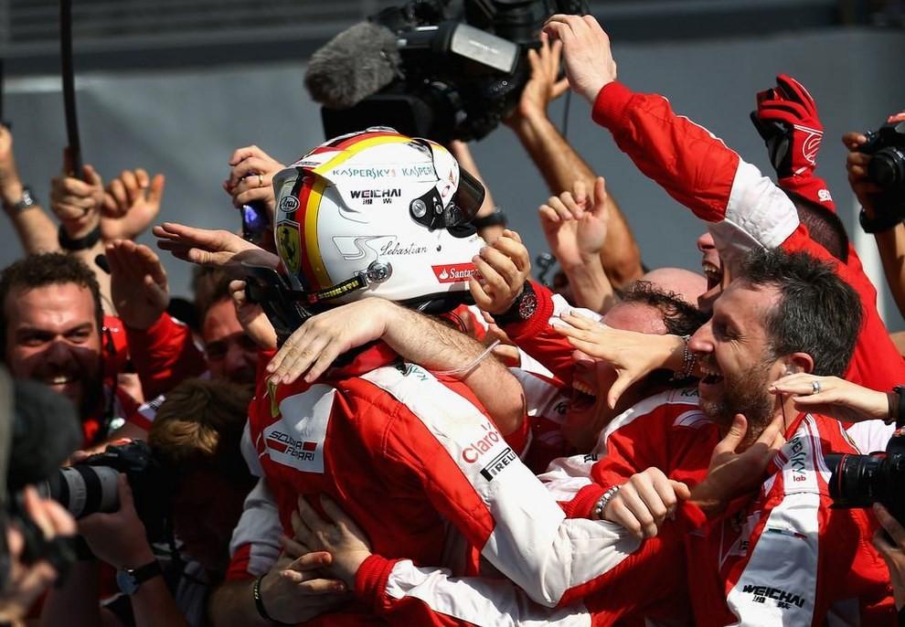 Sebastian Vettel, le foto più belle della carriera del campione di F1 - Foto 31 di 42