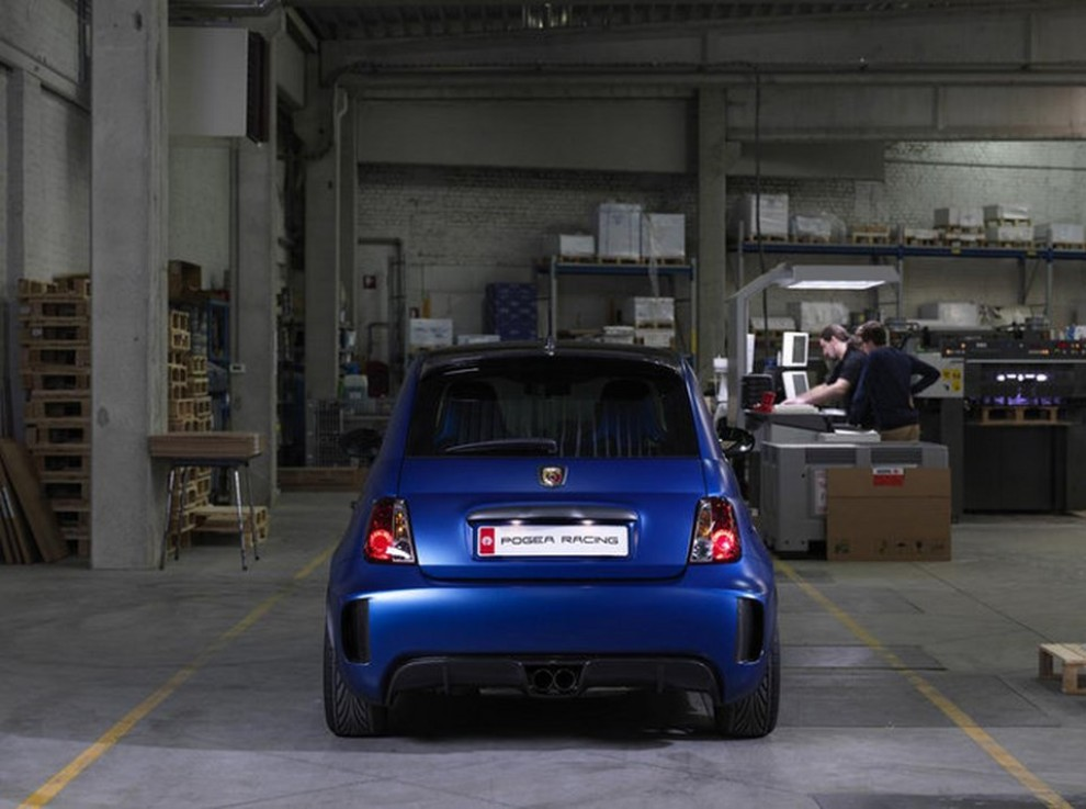 Abarth 500 tuning da 331 CV by Pogea Racing - Foto 9 di 10
