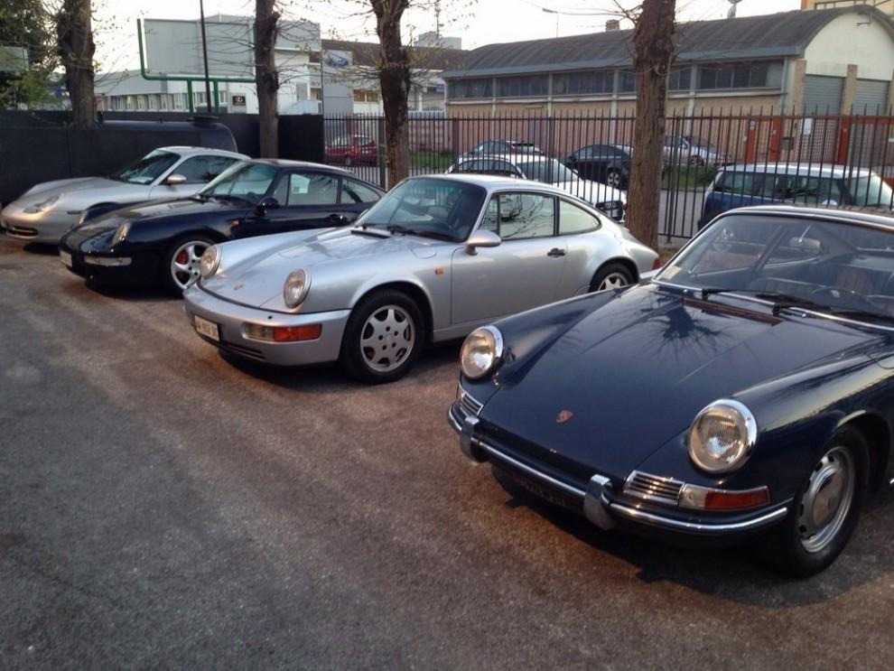Partner Porsche Classic, inaugurato a Padova il secondo centro specializzato nelle auto d'epoca Porsche - Foto 1 di 20