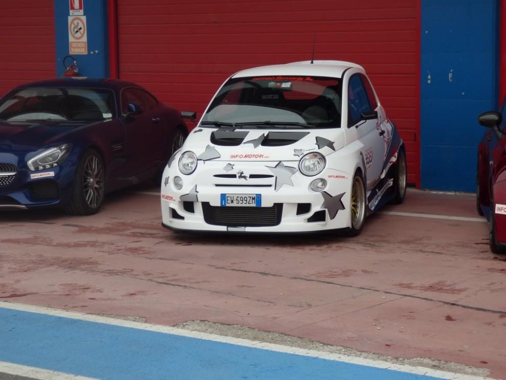 Romeo Ferraris Cinquone Corsa Stradale prova su pista - Foto 2 di 9