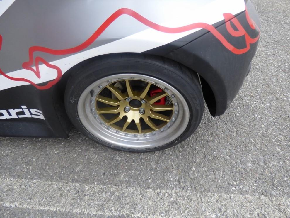 Romeo Ferraris Cinquone Corsa Stradale prova su pista - Foto 8 di 9