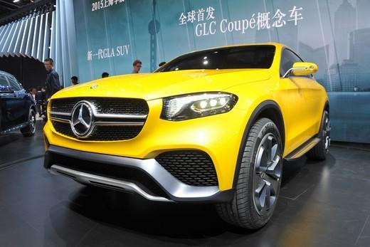 Mercedes GLC Coupè Concept prime immagini e dati ufficiali