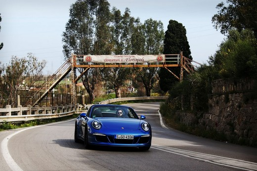 Nuova Gamma Porsche GTS ed il mito della Targa Florio