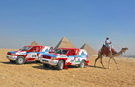 Pharaons International Cross Country Rally 2015 con oltre 600 iscritti