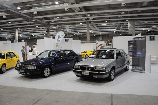 Lancia Thema Club Italia al Verona Legend Cars