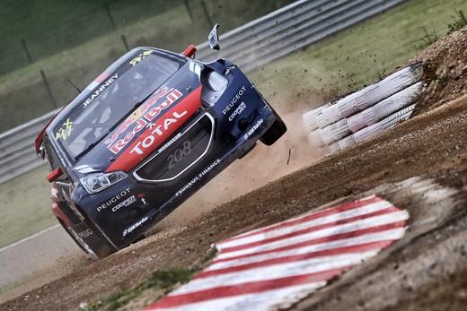Mondiale WRX, tappa sfortunata per Peugeot