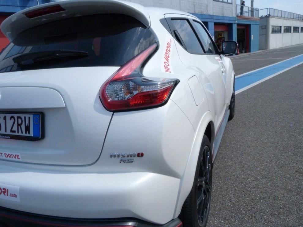 Nissan Juke Nismo RS prova su pista - Foto 26 di 59
