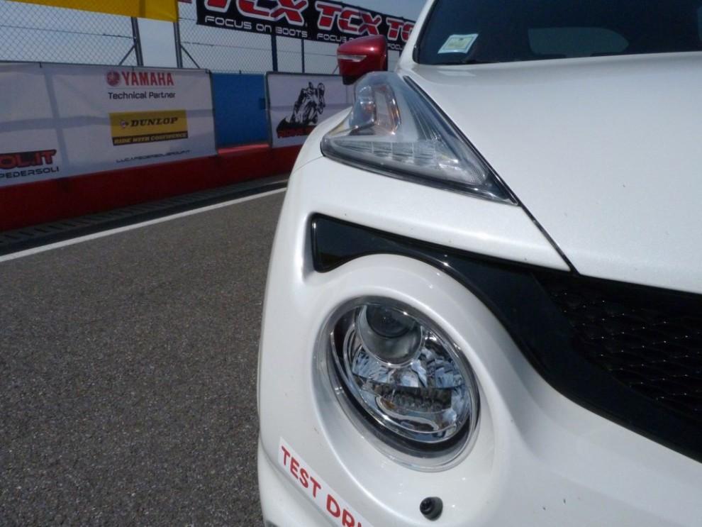 Nissan Juke Nismo RS prova su pista - Foto 27 di 59