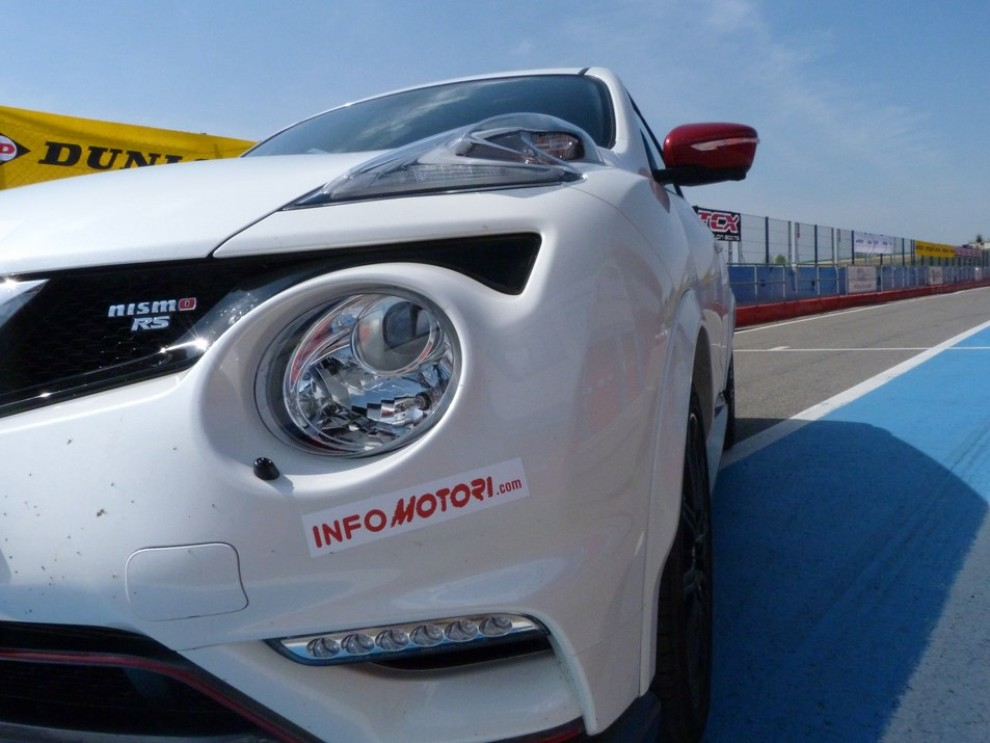 Nissan Juke Nismo RS prova su pista - Foto 34 di 59