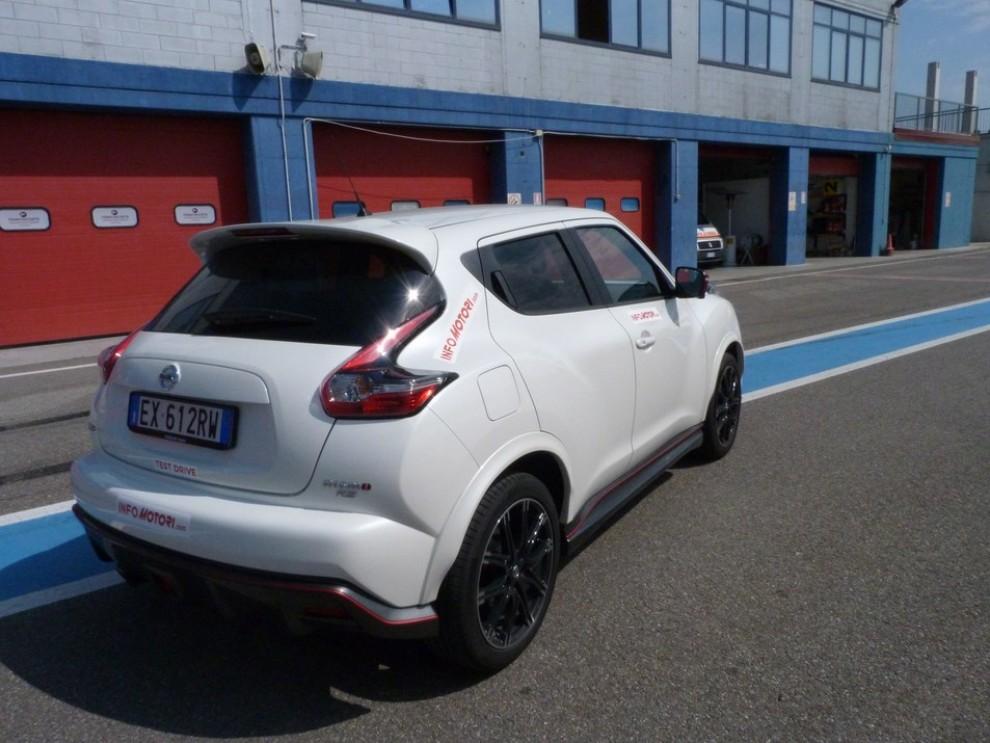 Nissan Juke Nismo RS prova su pista - Foto 39 di 59
