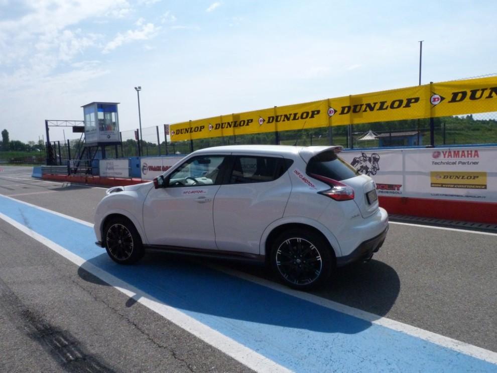 Nissan Juke Nismo RS prova su pista - Foto 41 di 59