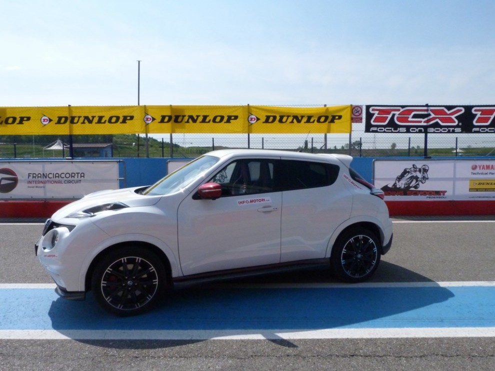 Nissan Juke Nismo RS prova su pista - Foto 42 di 59