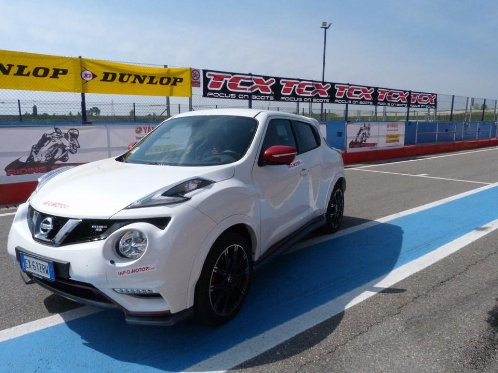 Nissan Juke Nismo RS prova su pista - Foto 43 di 59