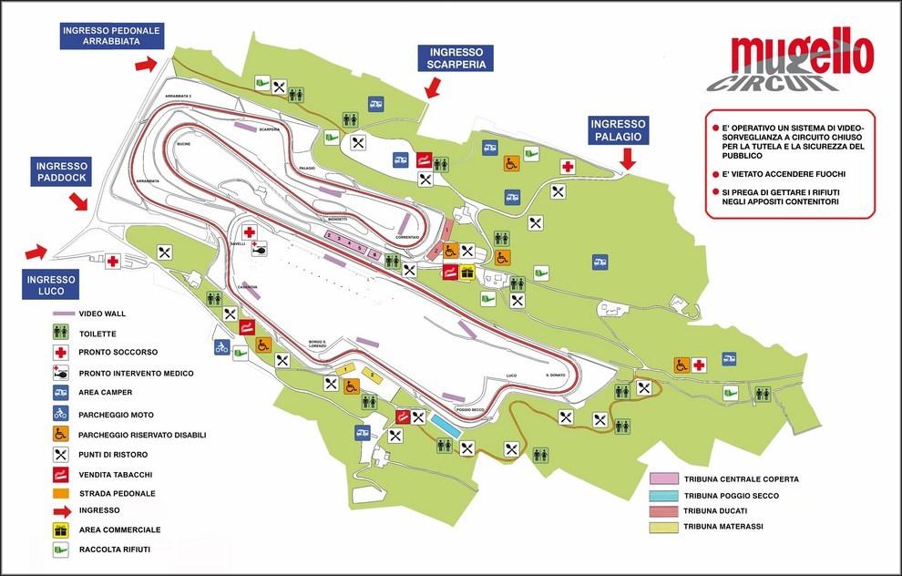Circuito Del Mugello : Motogp orari tv gp d italia al mugello diretta su sky