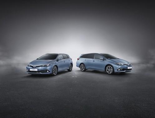 Toyota Auris il facelift ed i nuovi motori, ecco tutte le foto