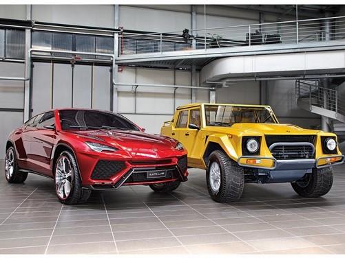 SUV Lamborghini Urus: viene prodotto in Italia ed arriva nel 2018