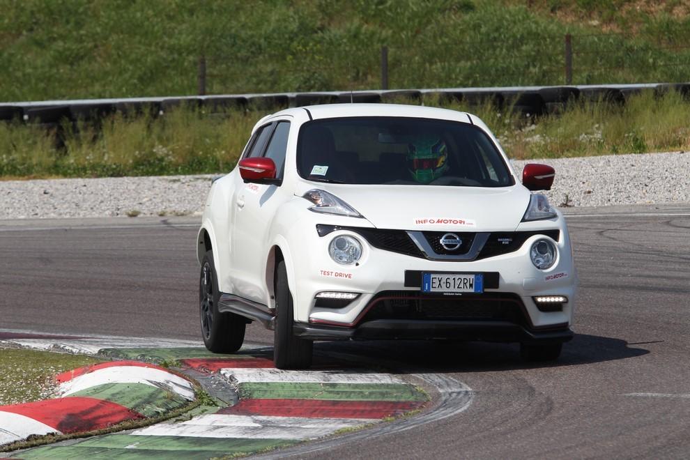 Nissan Juke Nismo RS prova su pista - Foto 5 di 59