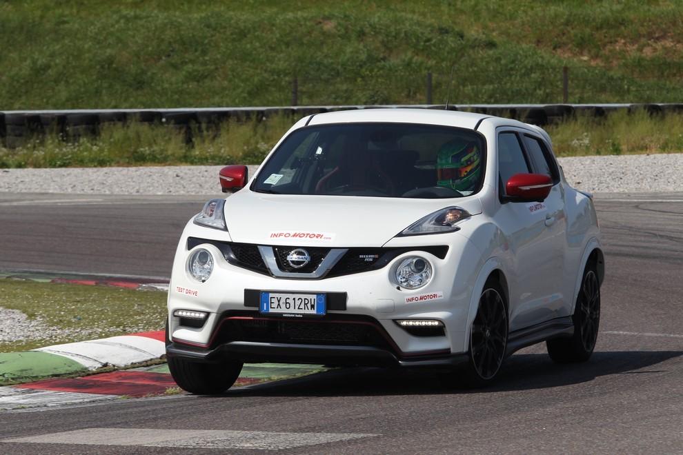 Nissan Juke Nismo RS prova su pista - Foto 6 di 59