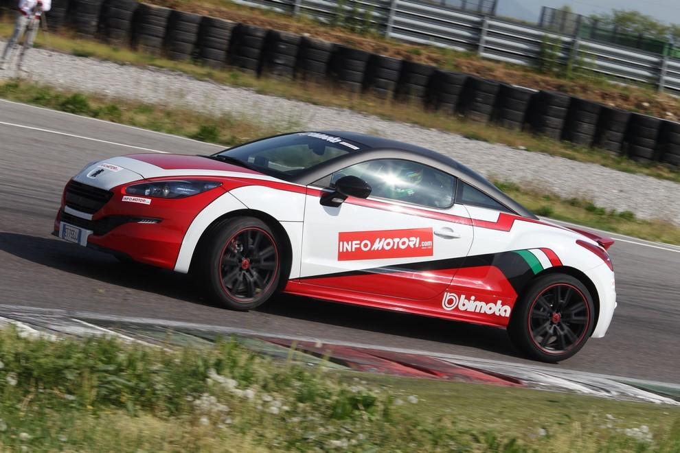 Peugeot RCZ-R Bimota, la one-off scende in pista con Infomotori - Foto 2 di 26