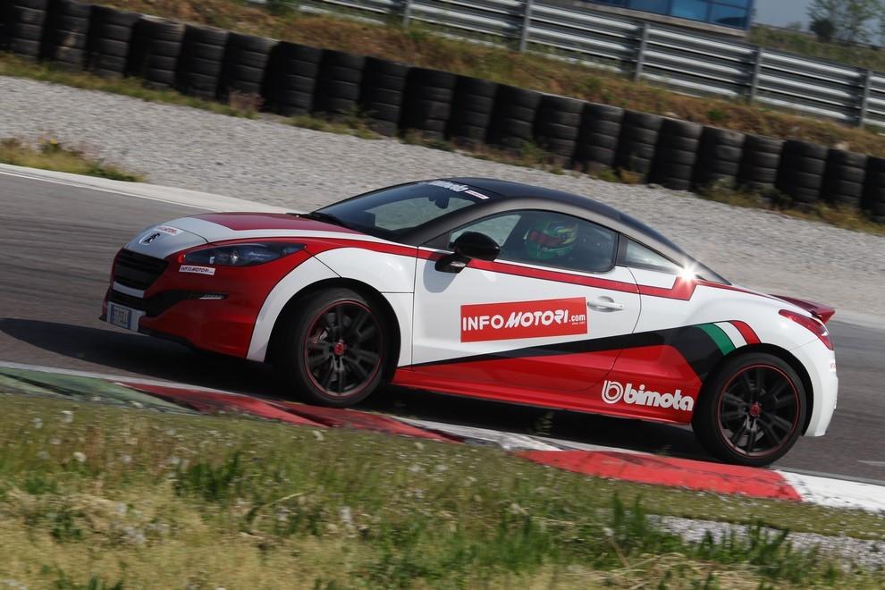 Peugeot RCZ-R Bimota, la one-off scende in pista con Infomotori - Foto 4 di 26