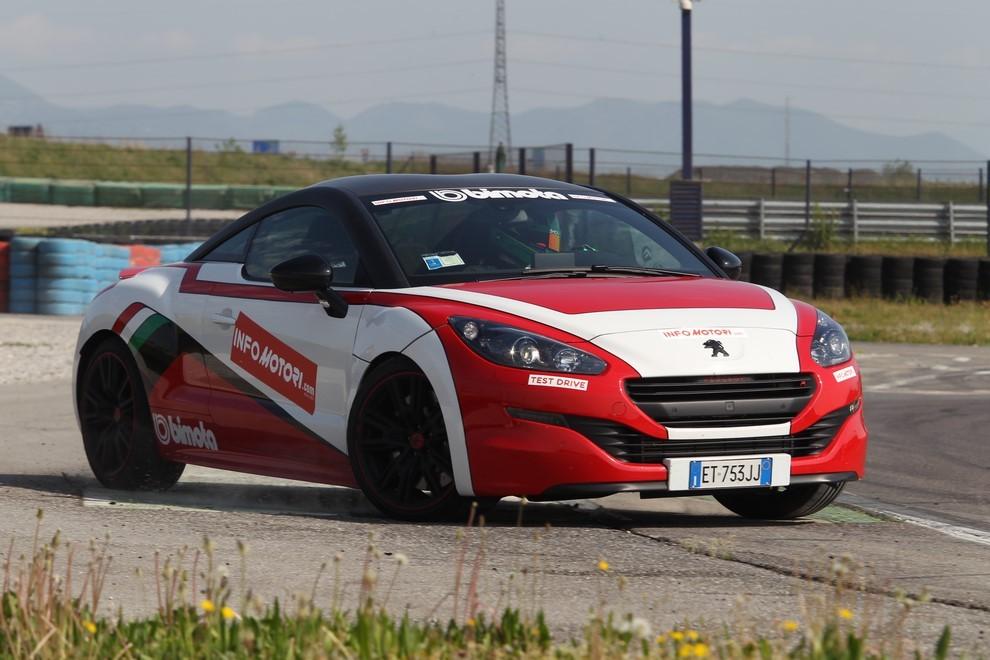 Peugeot RCZ-R Bimota, la one-off scende in pista con Infomotori - Foto 8 di 26