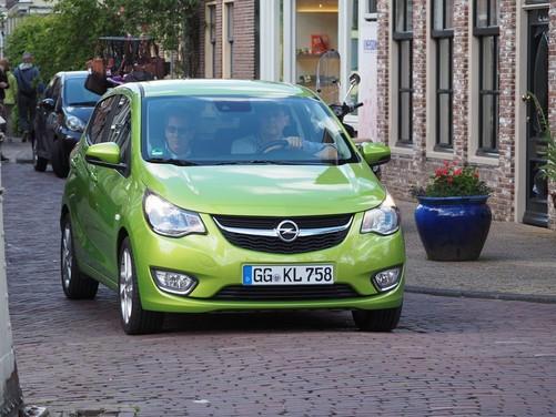 Opel Karl provata su strada ad Amsterdam