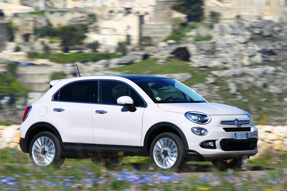 fiat 500x con il nuovo motore 1 4 multiair 170cv 4x4 at9 infomotori. Black Bedroom Furniture Sets. Home Design Ideas