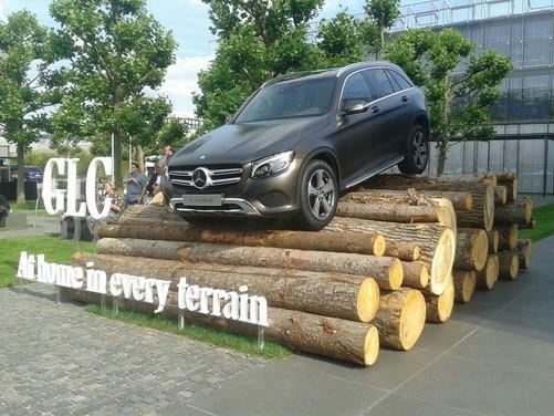 Mercedes GLC, la presentazione ufficiale il 17 giugno