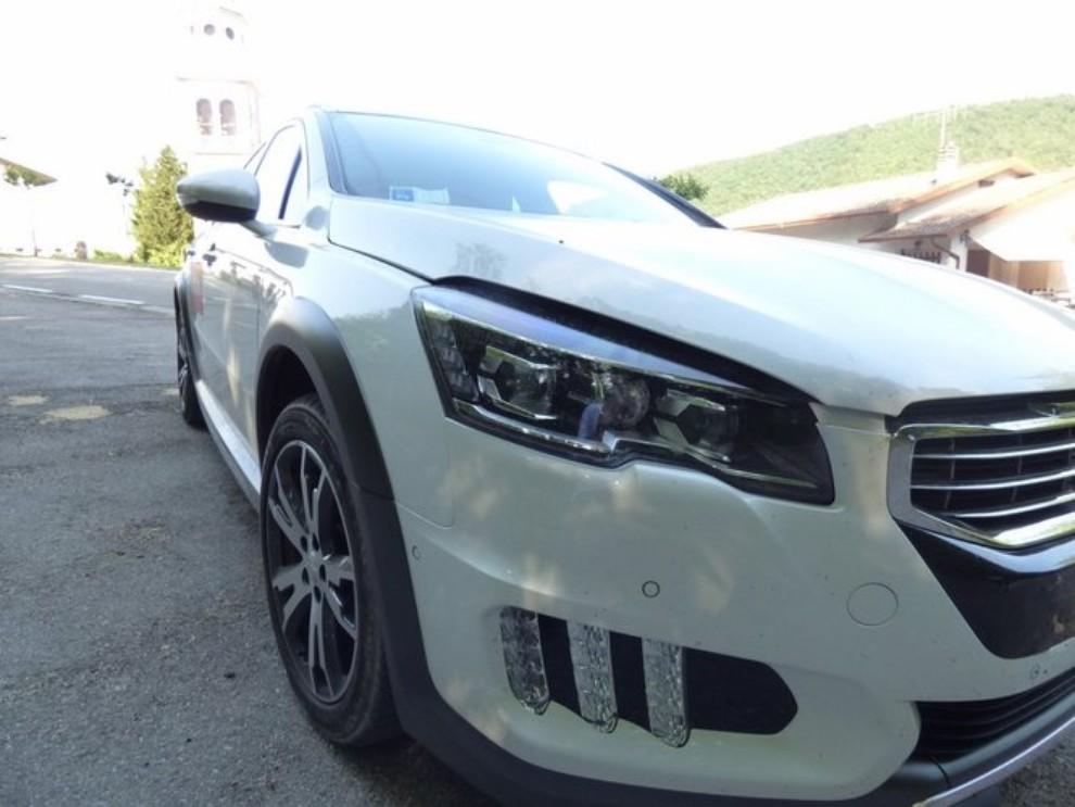 Peugeot 508 RXH ibrida diesel: la prova di Infomotori - Foto 11 di 29