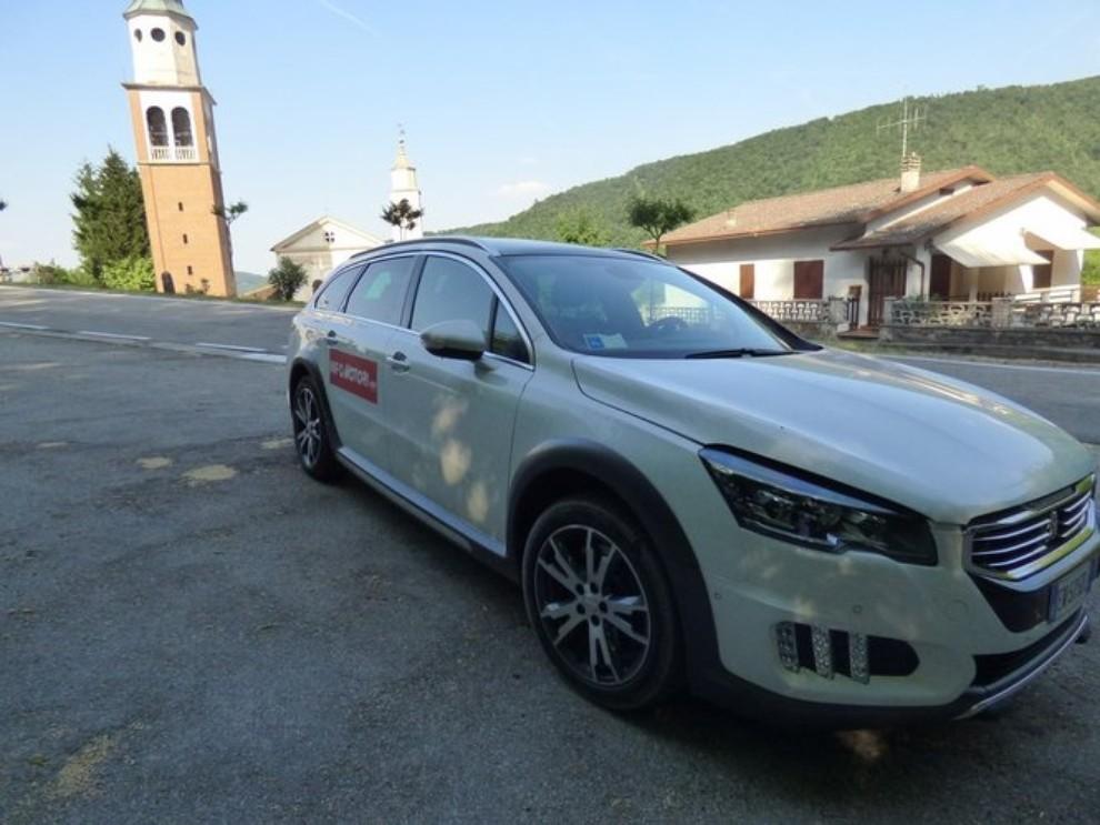 Peugeot 508 RXH ibrida diesel: la prova di Infomotori - Foto 12 di 29