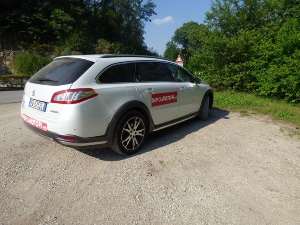 Peugeot 508 RXH ibrida diesel: la prova di Infomotori - Foto 23 di 29