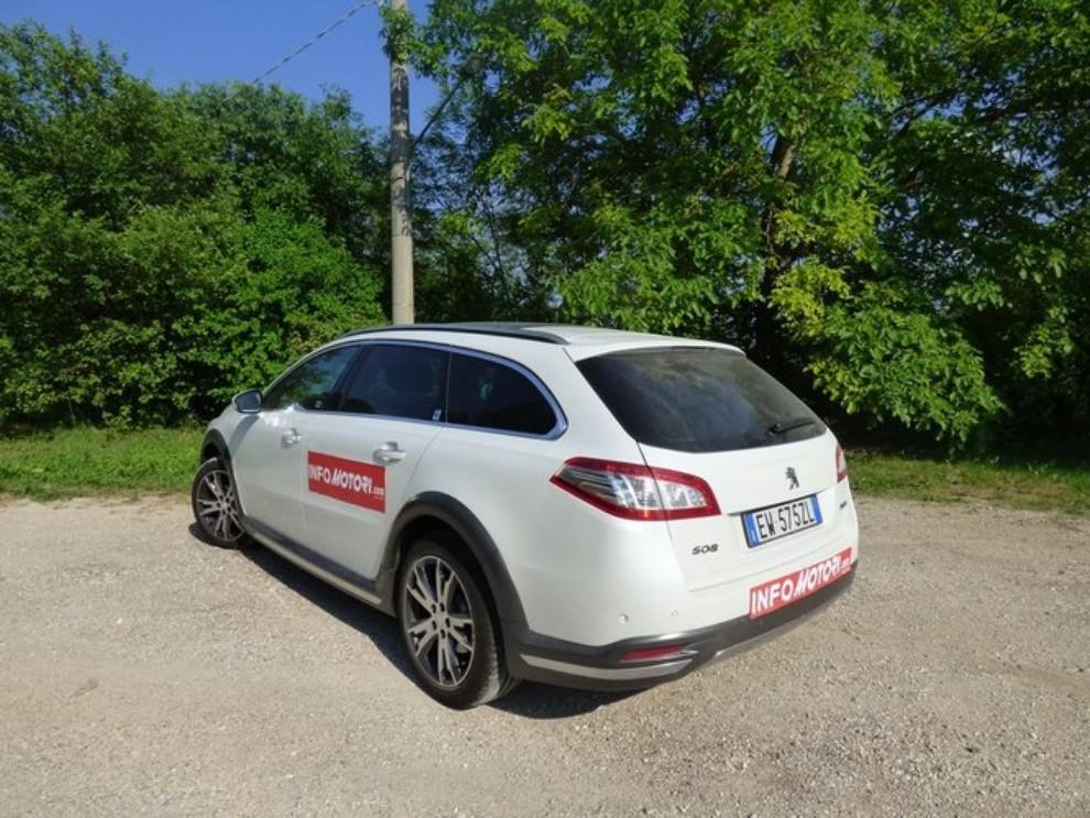 Peugeot 508 RXH ibrida diesel: la prova di Infomotori - Foto 25 di 29