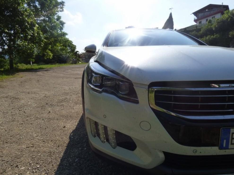 Peugeot 508 RXH ibrida diesel: la prova di Infomotori - Foto 28 di 29
