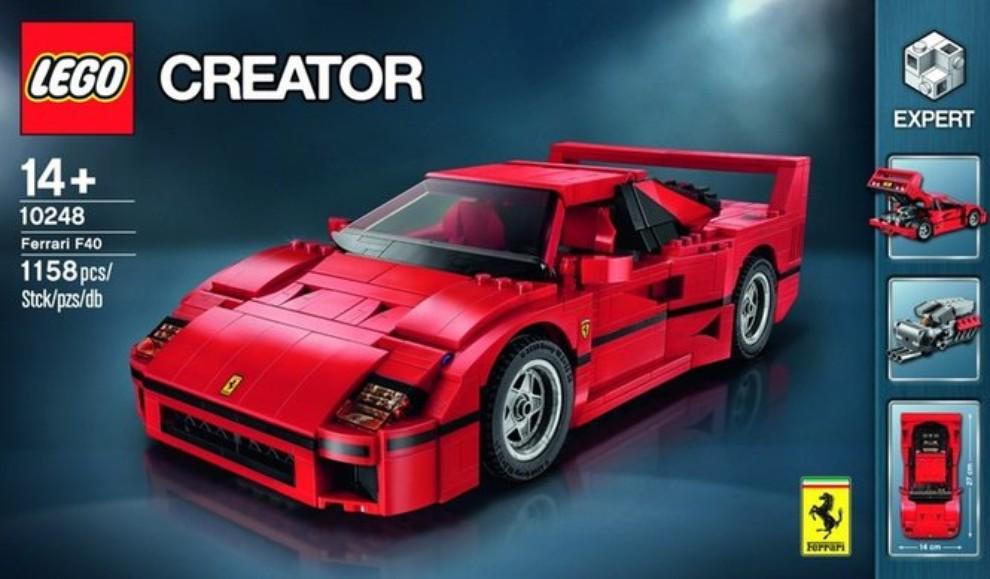 Ferrari F40 Lego - Foto 8 di 13