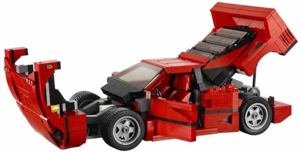 Ferrari F40 Lego - Foto 3 di 13
