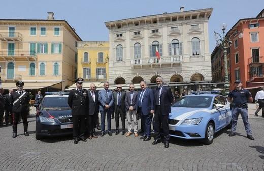 La Polizia in Germania su Golf, in Francia su Peugeot, in Spagna su Ibiza ed in Italia su Seat Leon