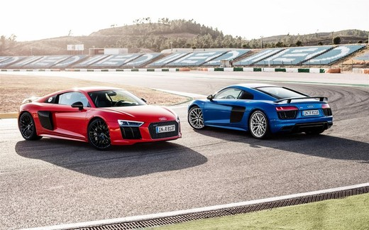 Nuova Audi R8 2015, informazioni e dati tecnici