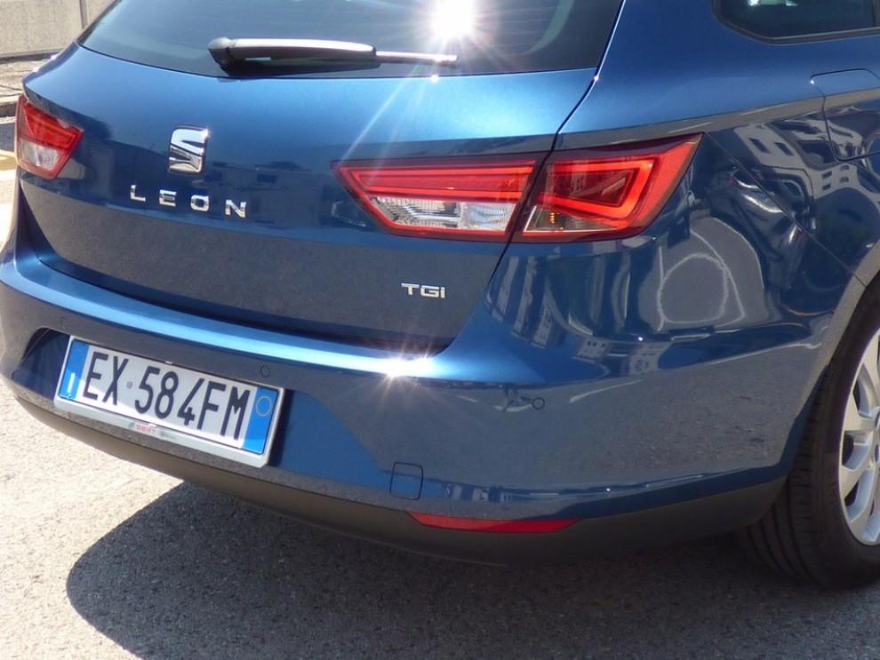 Seat Leon ST 1.4 TGI a metano provata su strada - Foto 4 di 19