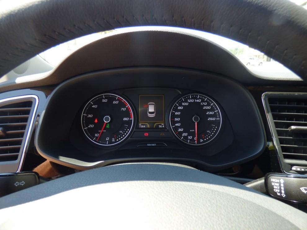 Seat Leon ST 1.4 TGI a metano provata su strada - Foto 6 di 19