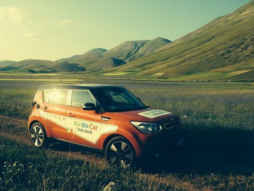 Kia Soul e BlaBlaCar protagoniste di un originale road movie
