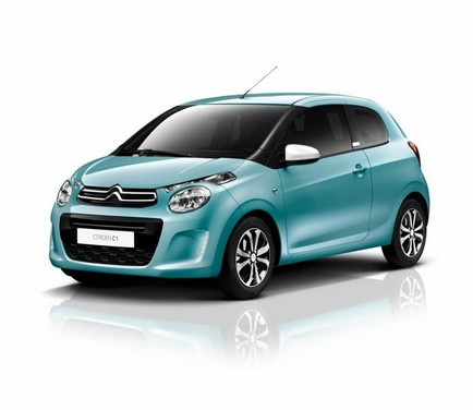 Citroen C1 con una nuova tinta e Active City Brake
