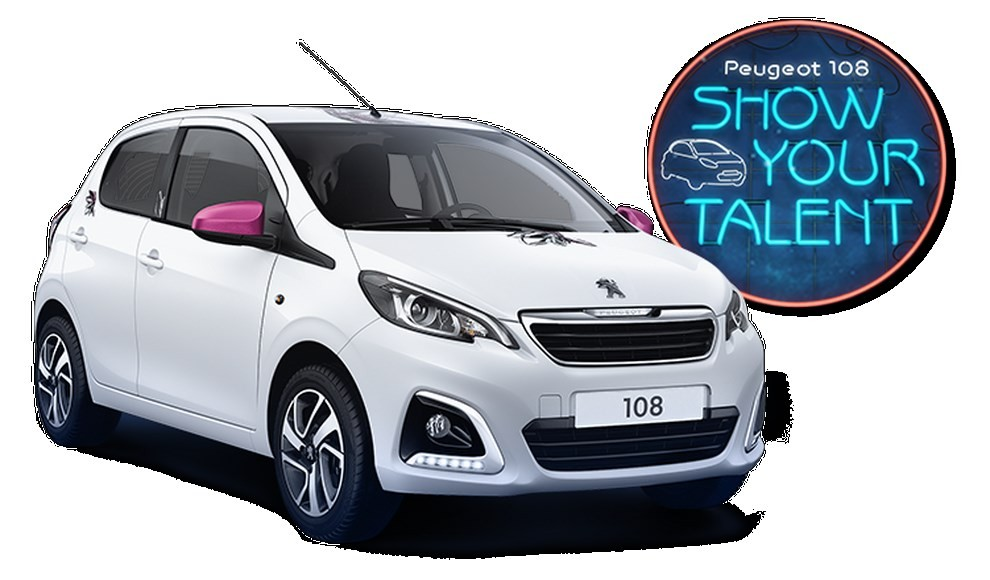 Peugeot 108 Car-aoke in tour per l'estate - Foto 1 di 4